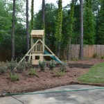 Lawn Renovation: Sod, Pinestraw, Mulch, Plant Installation